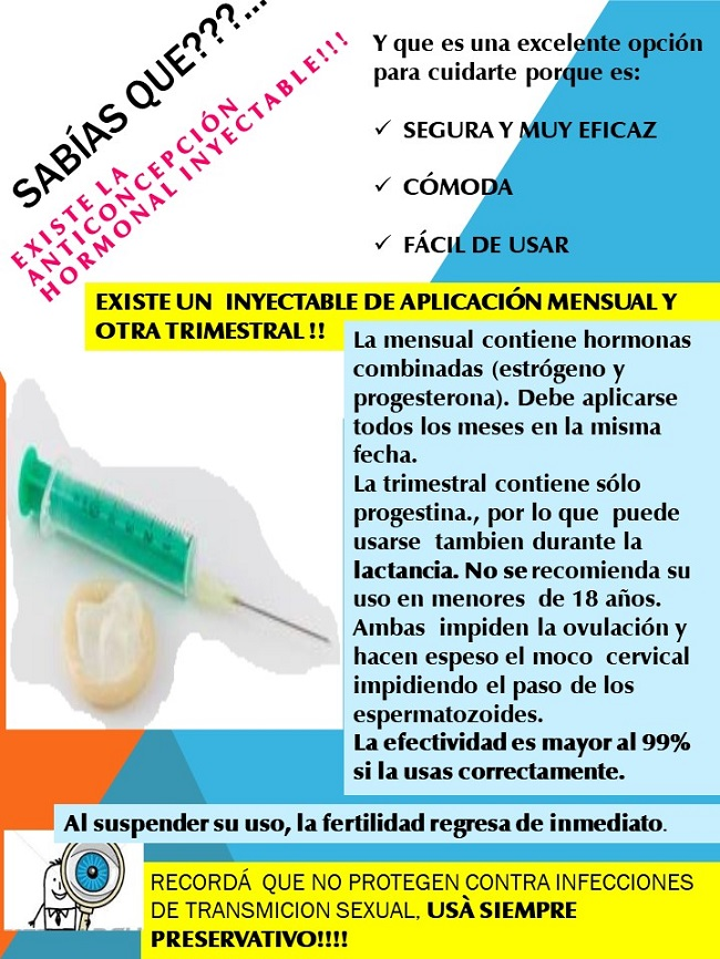 Anticoncepcion Mensual Inyectable