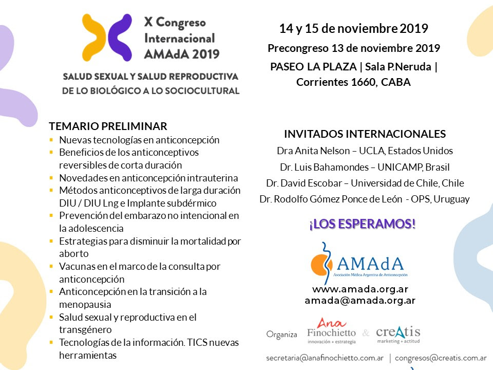 flyer congreso 2019